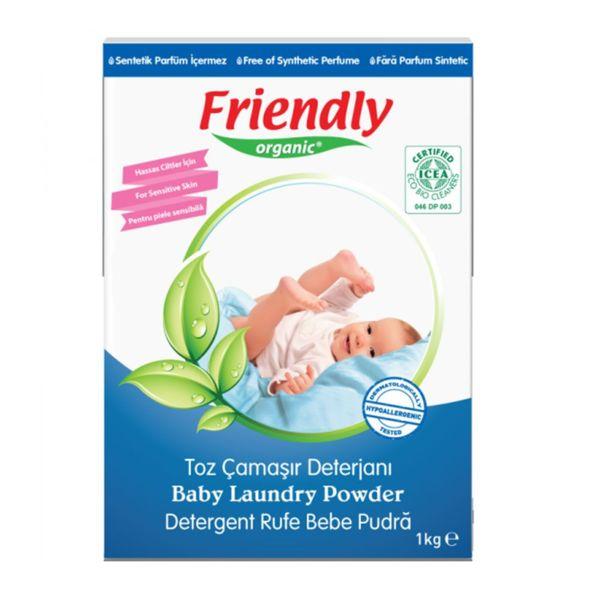 Friendly Organic Органичен прах за пране на бебешки дрехи 1 кг. 00598